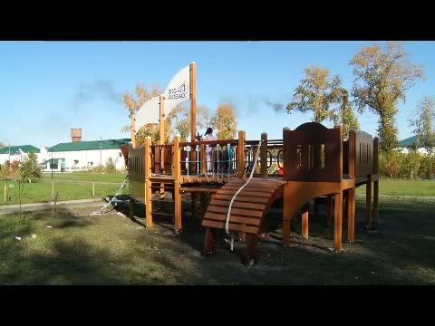Новому району - новая детская площадка