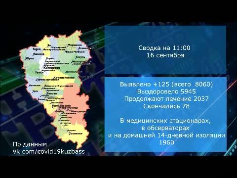 Оперативная сводка на 16.09.20