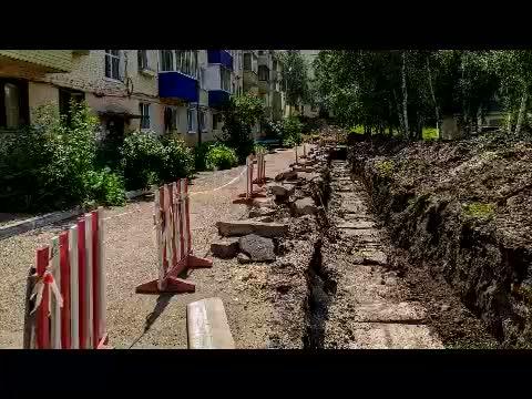 Восстановление территорий после ремонта труб