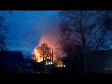 Пожар на Болотной